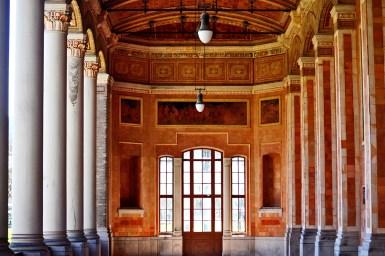 Soportales columnas frisos interiores Casino Baden Baden