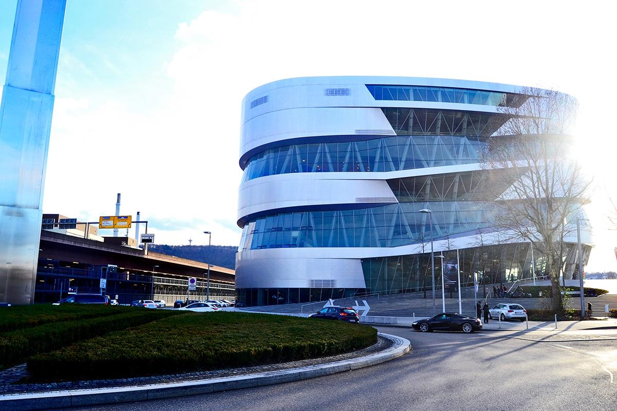 Museo sede Mercedes-Benz Stuttgart