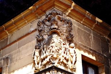 Escudo heráldico Casa Palacio Navarrete León de Guevara Elciego