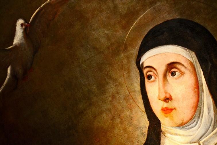 Anunciación Santa Teresa cuadro