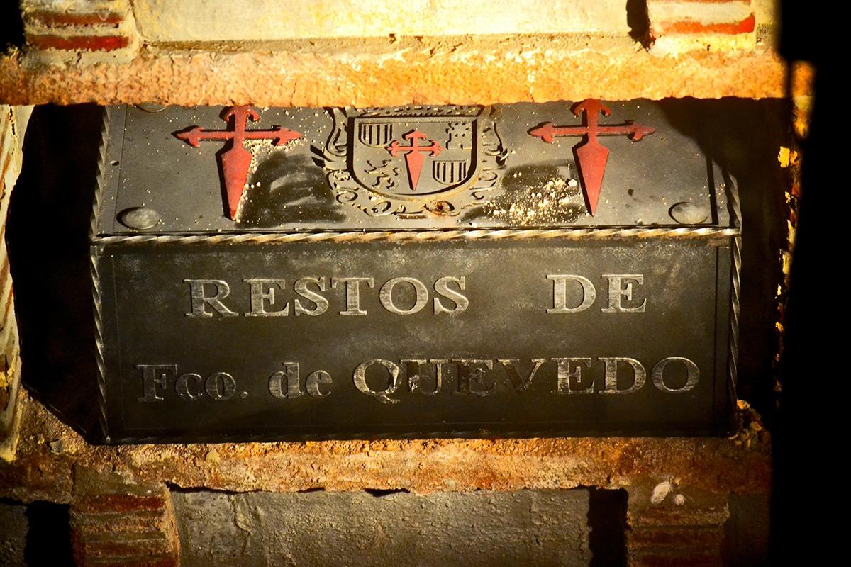 Restos Francisco de Quevedo Villanueva de los Infantes