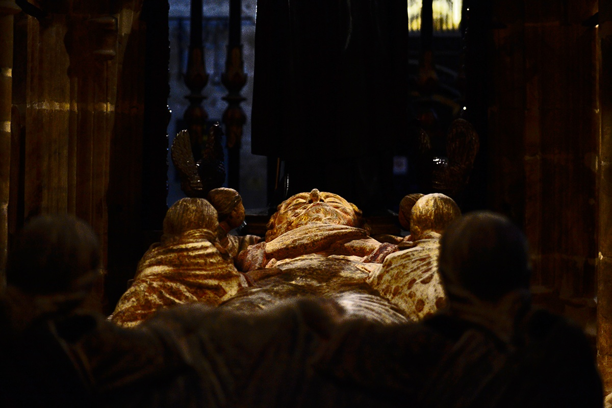 Tumba ilustre Concatedral La Redonda Logroño