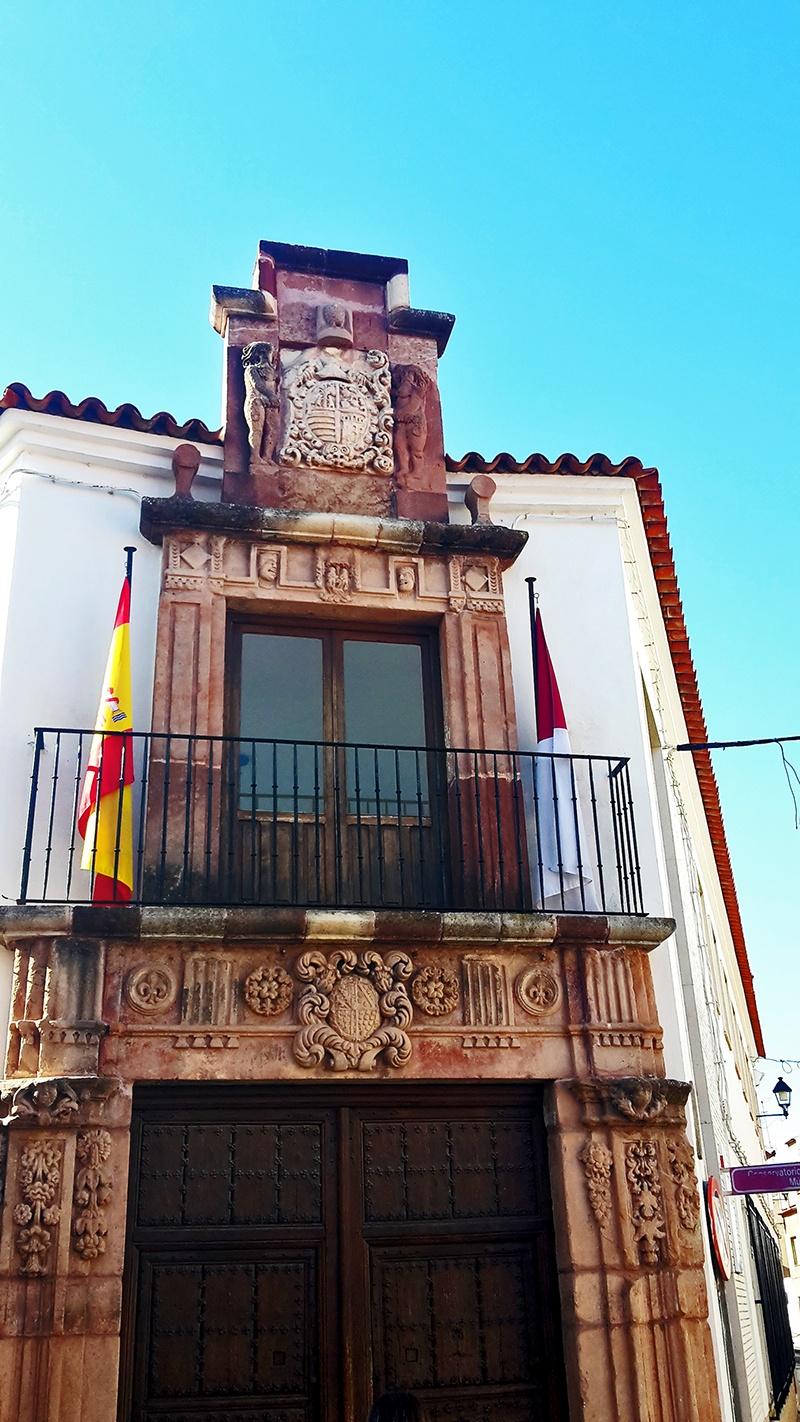 Conservatorio de Música fachada Alcázar de San Juan