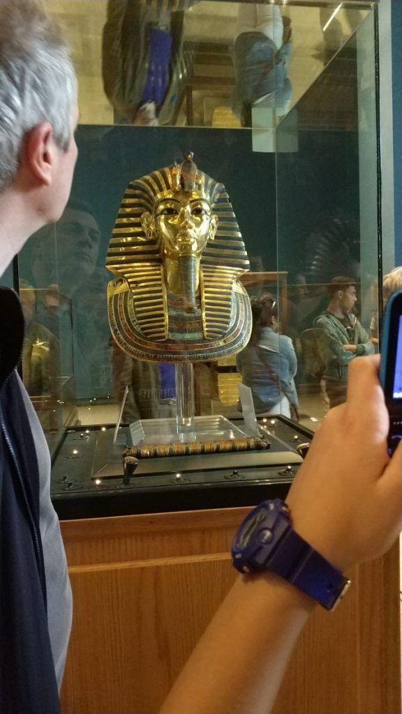 máscara Tutankamón
