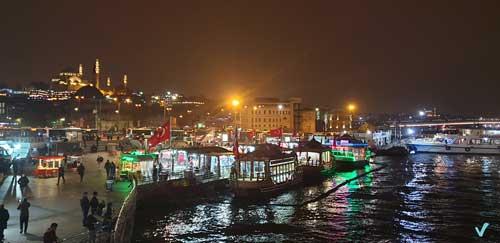 Barcas Estambul