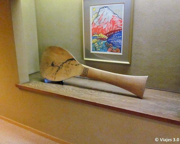 Hotel Iwaso Ryokan Piezas Exposición