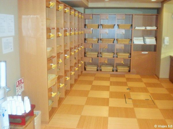 Hotel Iwaso Ryokan Onsen taquillas