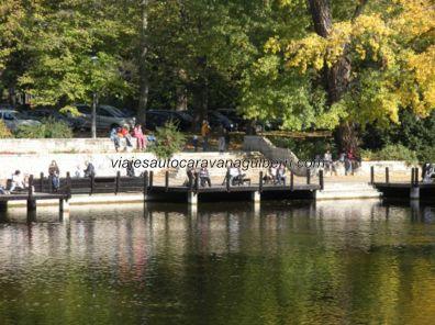lago en Parque Városliget