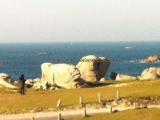 esculturas populares en rocas, aprovechando sus formas naturales