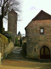 desde la zona del Castillo, mirando hacia la Iglesia