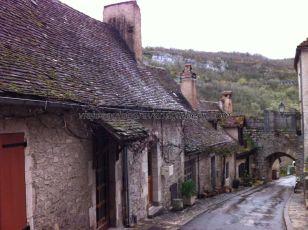 casitas en el barrio antiguo