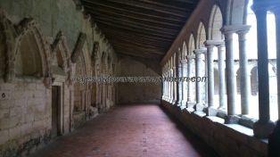 arcada y claustro interior
