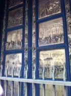 sí se pueden admirar sus maravillosas puertas, las Puertas del Paraíso, con bajorrelieves esculpidos en bronce