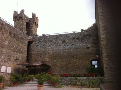 interior de la fortaleza