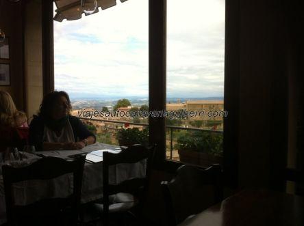 y restaurantes con buenas vistas
