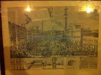 Piazza di Campo en un antiguo grabado
