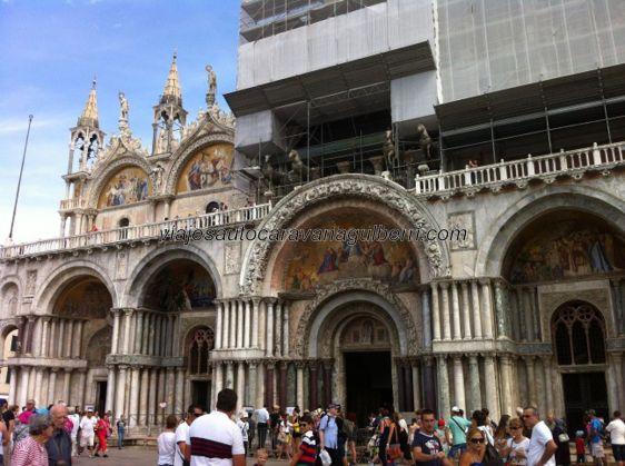 San Marco es espectacular, aún a pesar de los inevitables andamios de reformas