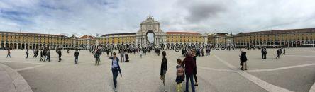 panorámica de Praça do Comercio