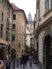calle Celetná hacia la Plaza de la Ciudad Vieja