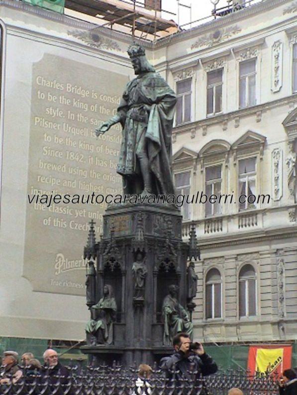 escultura Carlos IV
