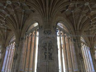 detalle claustro interior Convento San Esteban