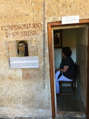 confesionario Santa Teresa en Convento San Esteban
