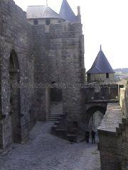 muralla paseo guardia de la ciudadela