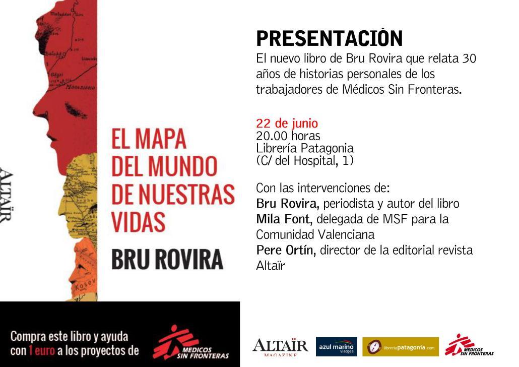 Presentación en Valencia del libro: El mapa de nuestras vidas
