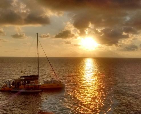 Imagen de la puesta de sol