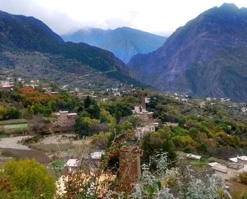 Vista panorámica de Zonglu