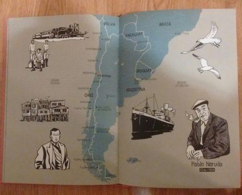 recomendaciones Pablo Neruda Mapa Chile
