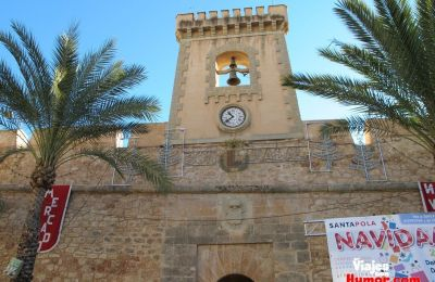 castillo de santa pola