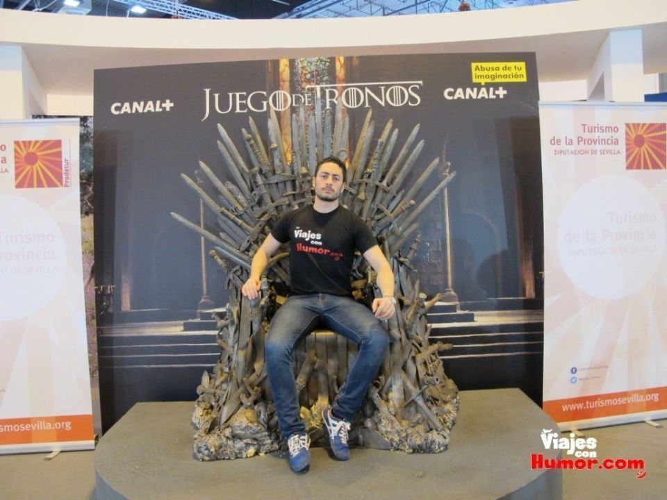 Winter is coming Fitur 2015 sevilla
