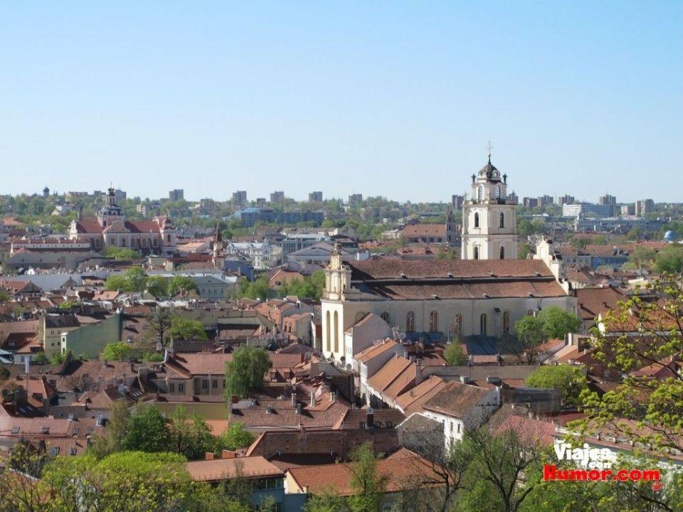 universidad de vilna lituania desde la torre de gediminas