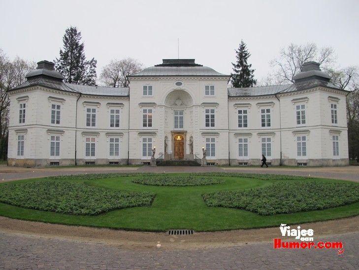 palacio myslewicki varsovia polonia parque lazienki