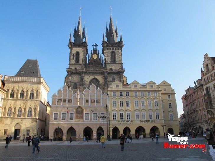 torres iglesia de nuestra señora de Tyn Praga