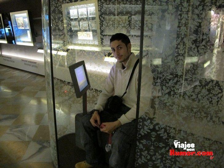 museo de chopin interior varsovia
