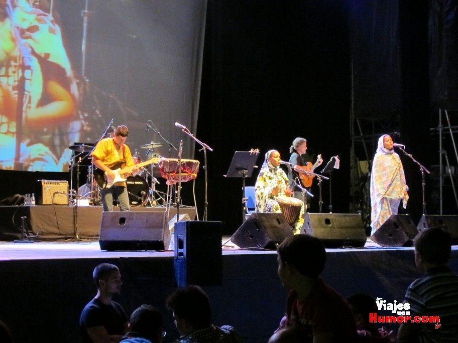 escenario festival etnosur alcala la real