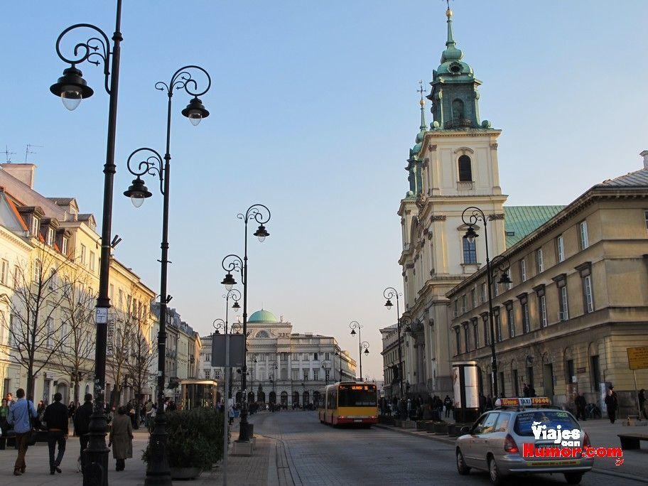 calle Krakowskie Przedmiescie