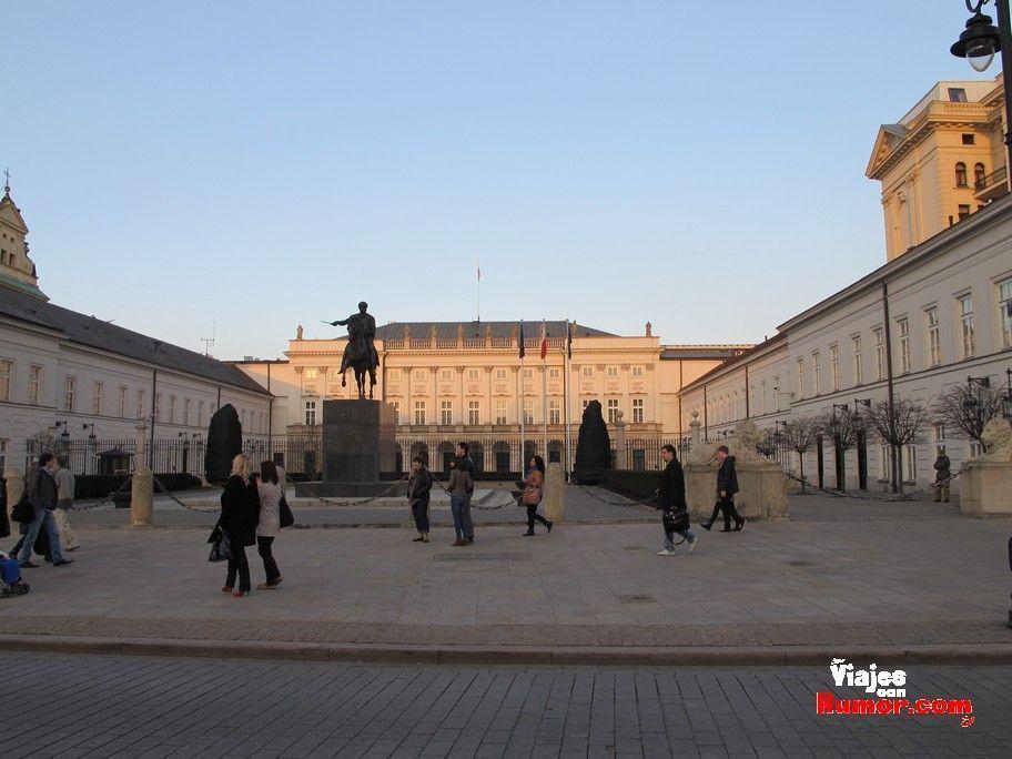 palacio presidencial varsovia polonia