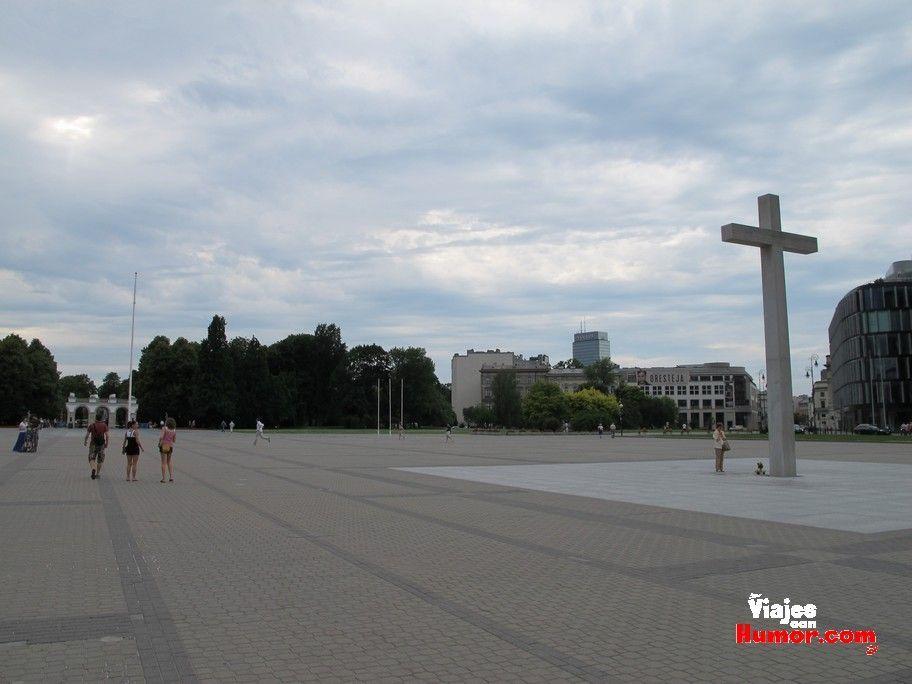 plaza tumba del soltado desconocido varsovia