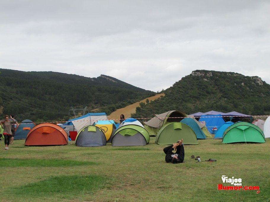 zona de acampada wim ciudad de frias