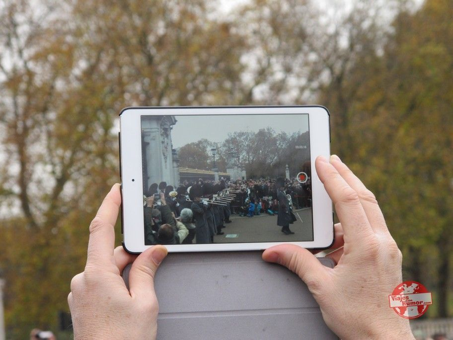 Buckingham Palace cambio de guardia