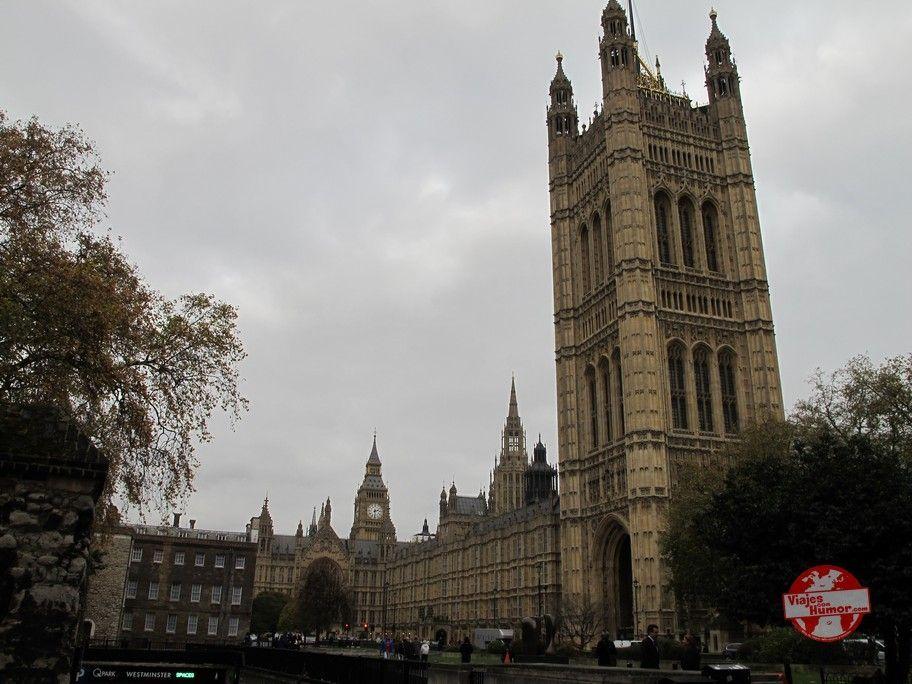Palacio de Westminster Parlamento britanico