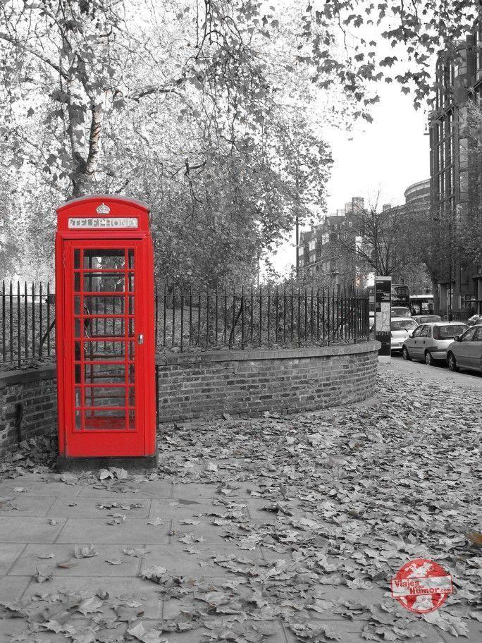 cabina roja en Londres