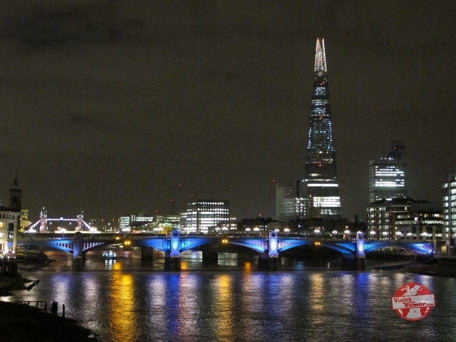 vistas nocturnas rio tamesis londres