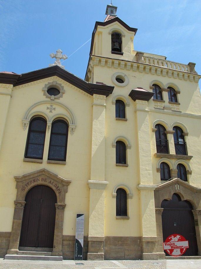 basilica de san fermin de aldana pamplona