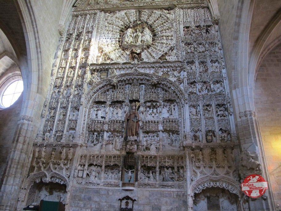 retablo de la iglesia de san nicolas burgos