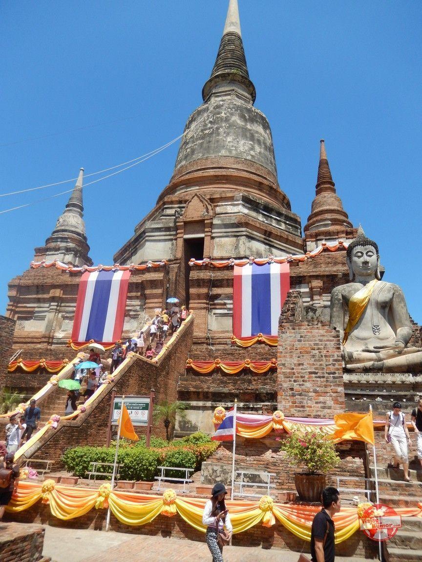 templo wat Yai Chai Mang Khon