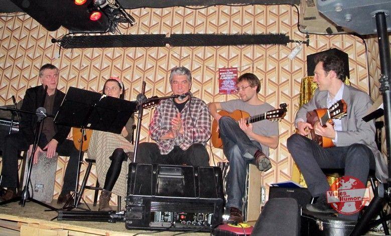Typical flamenco Polish party